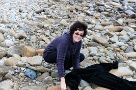 Hilary Scharper on Beach