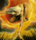 Zeus by William Blake (1794)