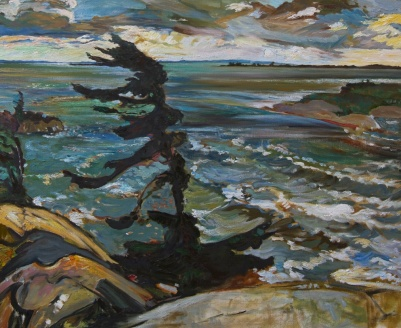 "Fred Varley's: ""Stormy Weather, Georgian Bay"" (1921)"